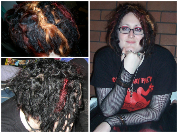 SHORT DREAD COLLAGE